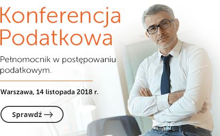 Konferencja podatkowa