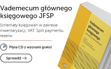 Vademecum glownego ksiegowego JSFP