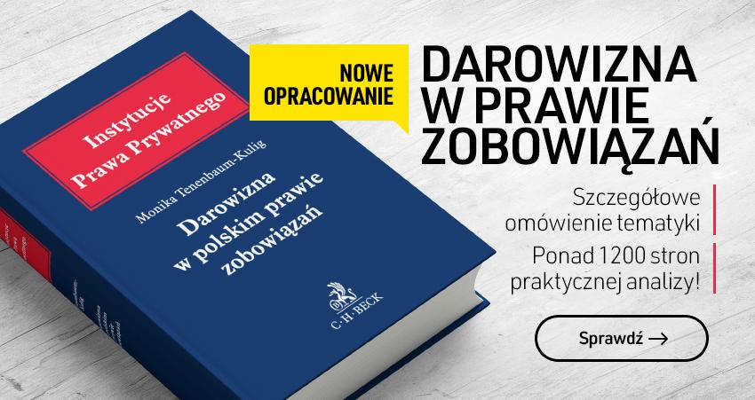 Darowizna w polskim prawie zobowiązań
