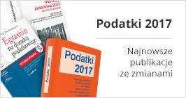 Najnowsze publikacje podatkowe ze zmianami