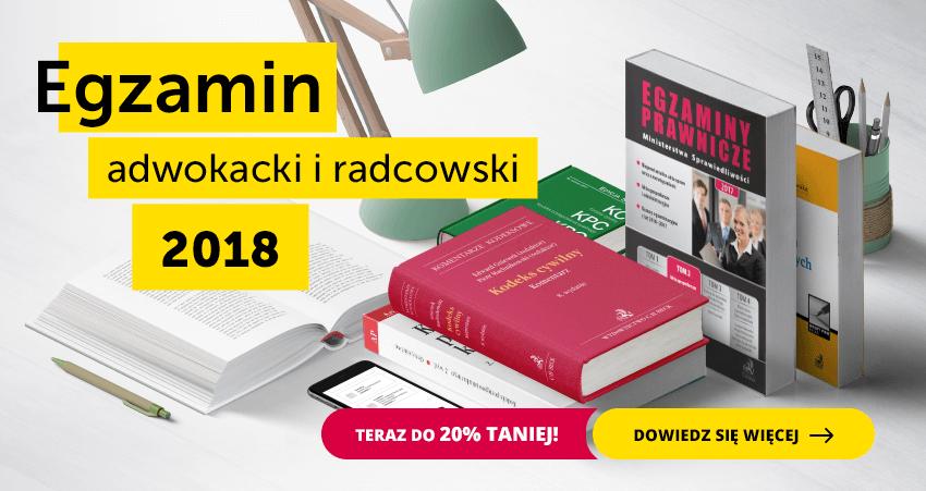 Egzamin prawniczy 2018