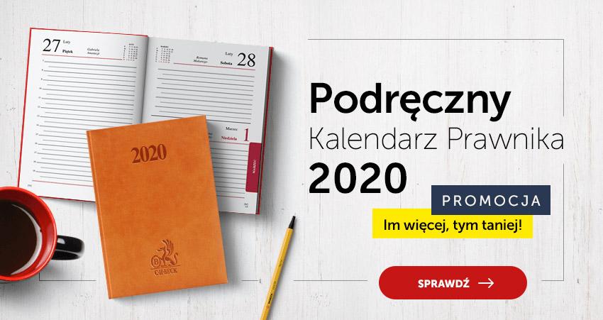 Kalendarz Prawnika 2020 Podręczny