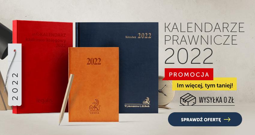 Kalendarze prawnicze 2022