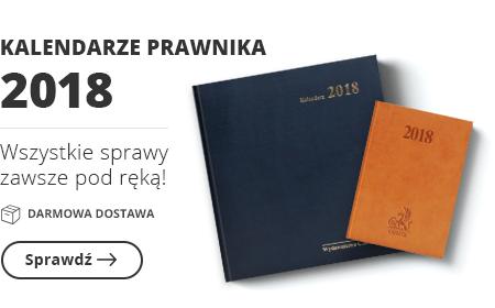 Kalendarze prawnika 2018