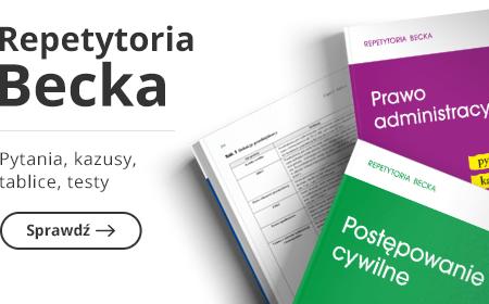 Repetytoria Becka - Nowa odsłona serii wydawniczej