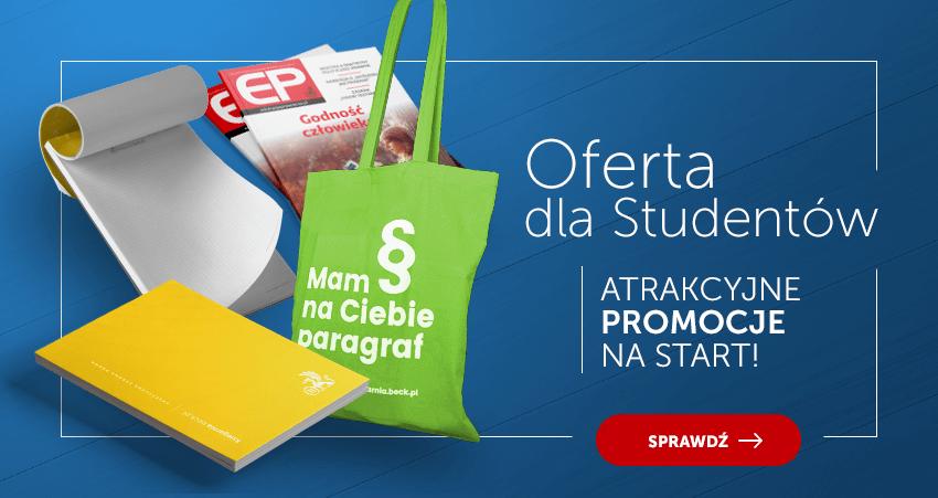 Oferta dla studentów - Promocje na start