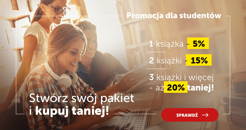 Stwórz swój pakiet akademicki i kupuj nawet 20% taniej!