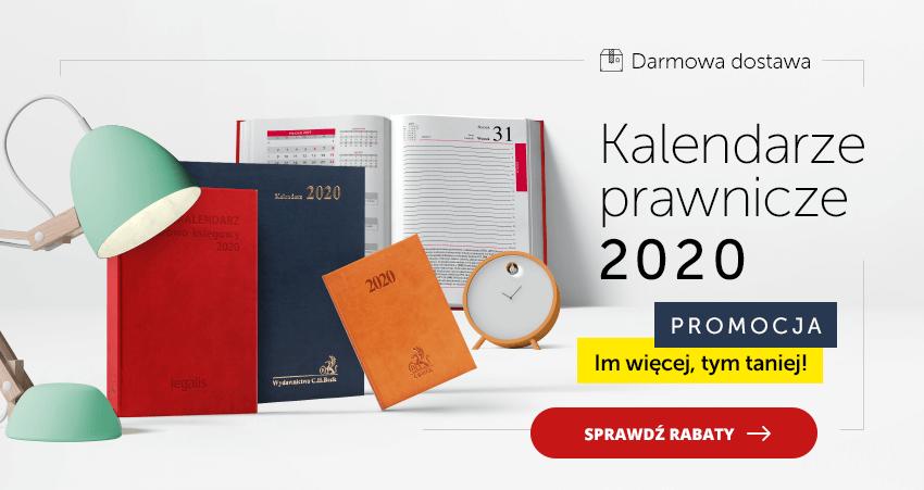 Kalendarze prawnicze 2020