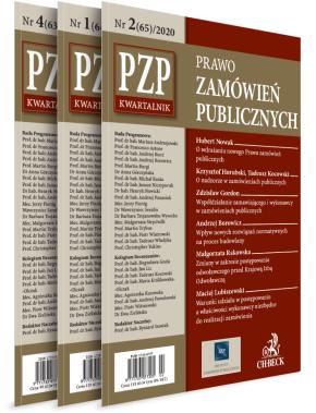 PZP Prawo Zamówień Publicznych - Prenumerata 2019