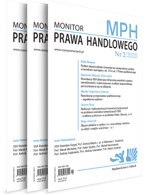 Monitor Prawa Handlowego - Prenumerata