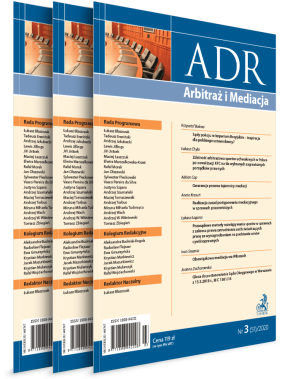 ADR Arbitraż i Mediacja - Prenumerata