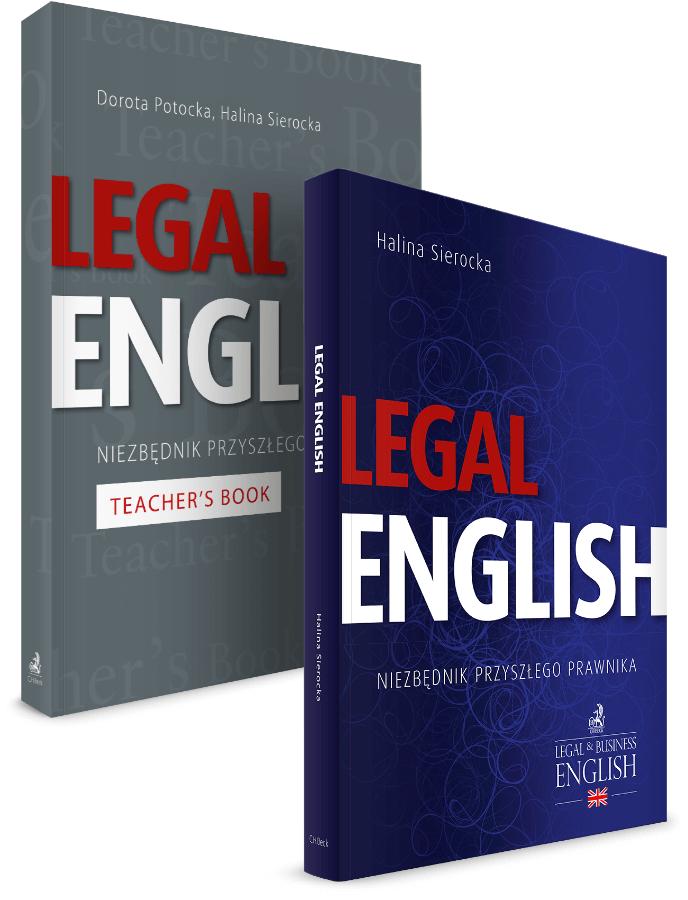 PAKIET: Legal English + Teacher's Book - 25% TANIEJ