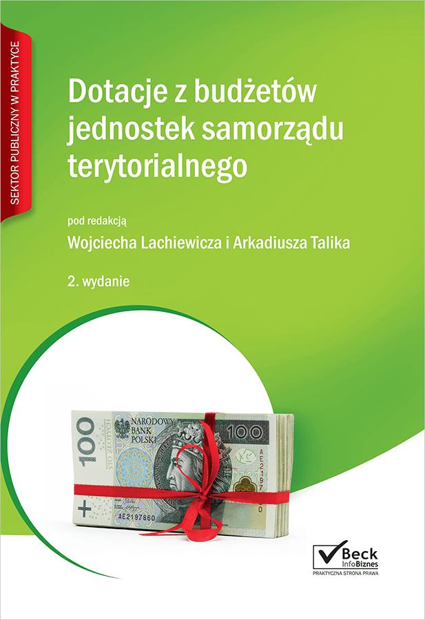 Dotacje z budżetów jednostek samorządu terytorialnego + płyta CD