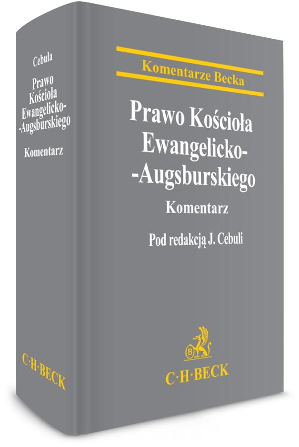 Prawo Kościoła Ewangelicko-Augsburskiego. Komentarz