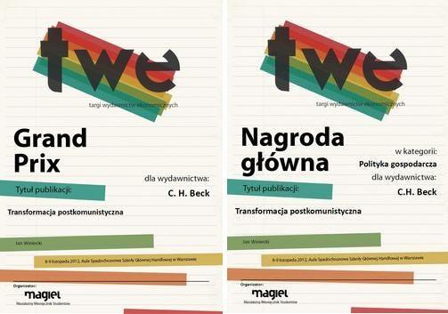 Transformacja postkomunistyczna Studium przypadku zmian instytucjonalnych