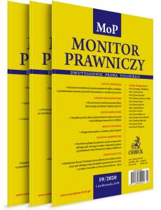 Monitor Prawniczy - Prenumerata