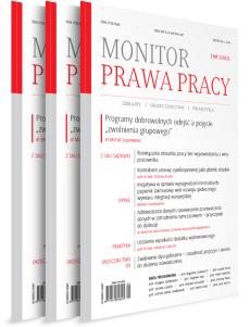 Monitor Prawa Pracy - Prenumerata