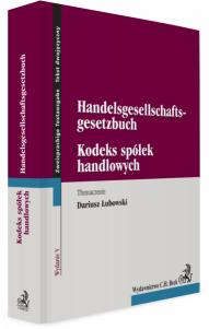 Kodeks spółek handlowych. Handelsgesellschaftsgesetzbuch