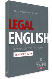 Legal English. Niezbędnik przyszłego prawnika Teacher's Book
