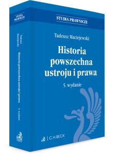 Historia powszechna ustroju i prawa