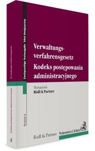 Kodeks postępowania administracyjnego. Verwaltungsverfahrensgesetz