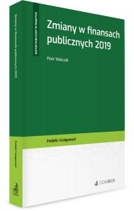 Zmiany w finansach publicznych 2019
