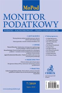 Monitor Podatkowy Nr 7/2019
