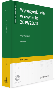 Wynagrodzenia w oświacie 2019/2020 + płyta CD
