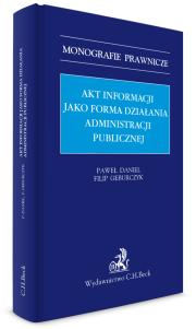 Akt informacji jako forma działania administracji publicznej