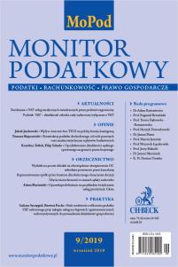 Monitor Podatkowy Nr 9/2019