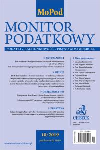 Monitor Podatkowy Nr 10/2019