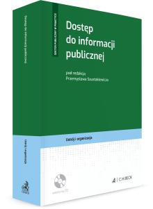Dostęp do informacji publicznej + płyta CD