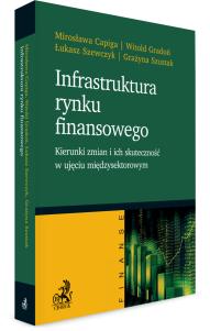 Infrastruktura rynku finansowego - kierunki zmian i ich skuteczność w ujęciu międzysektorowym