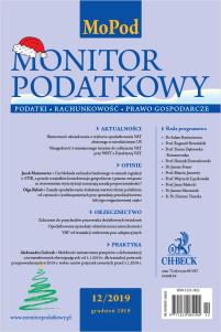 Monitor Podatkowy Nr 12/2019