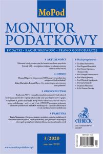 Monitor Podatkowy Nr 3/2020