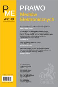 Prawo Mediów Elektronicznych Nr 4/2019