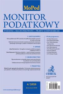 Monitor Podatkowy Nr 4/2020