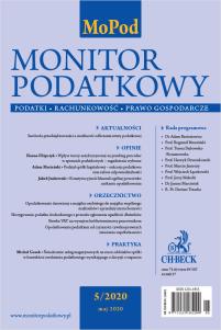 Monitor Podatkowy Nr 5/2020