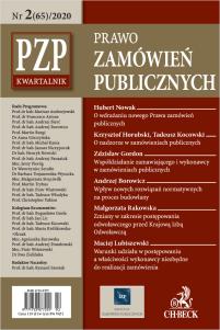 PZP Prawo Zamówień Publicznych - kwartalnik Nr 2/2020