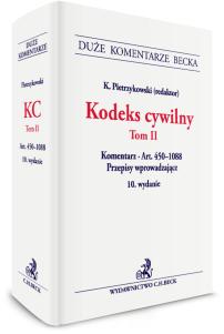 Kodeks cywilny. Tom II. Komentarz do art. 450–1088. Przepisy wprowadzające