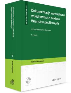 Dokumentacja wewnętrzna w jednostkach sektora finansów publicznych + płyta CD