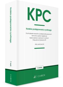 KPC. Kodeks postępowania cywilnego oraz ustawy towarzyszące