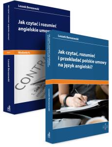 PAKIET: Jak czytać i rozumieć angielskie umowy? + Jak czytać, rozumieć i przekładać polskie umowy na angielski?