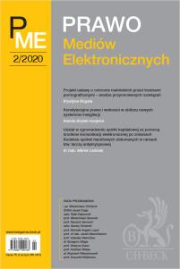 Prawo Mediów Elektronicznych Nr 2/2020