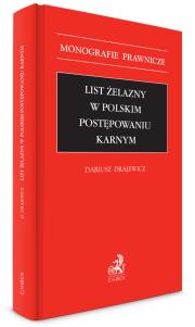 List żelazny w polskim postępowaniu karnym
