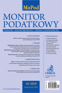 Monitor Podatkowy Nr 10/2020