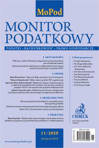 Monitor Podatkowy Nr 11/2020