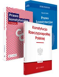 PAKIET: Prawo konstytucyjne współczesnej Polski + Prawo konstytucyjne w pigułce + Konstytucja Rzeczypospolitej Polskiej