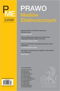 Prawo Mediów Elektronicznych Nr 3/2020