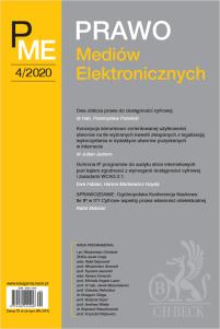 Prawo Mediów Elektronicznych Nr 4/2020